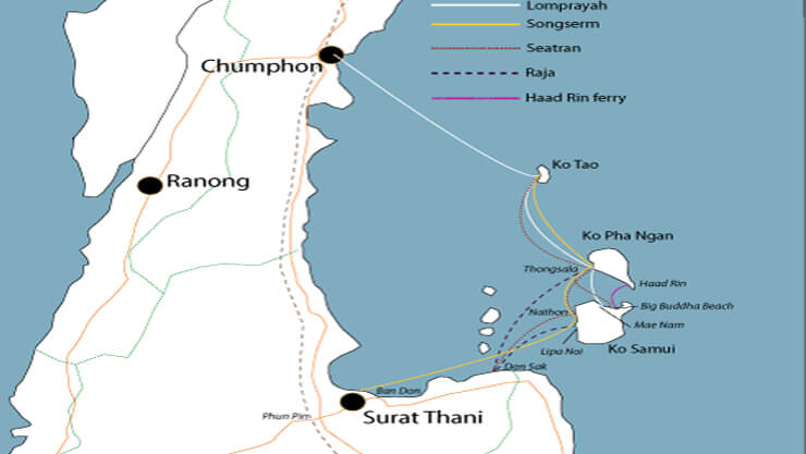 Scuba Diving Locations - Getting To Koh Tao Thailand