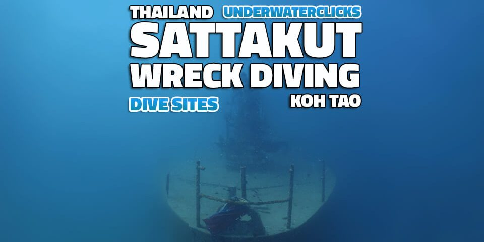 scuba diving locations - HTMS Sattakut Koh Tao Wreck Dives Thailand