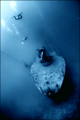 HTMS Sattakut Wreck Dive Koh Tao Thailand