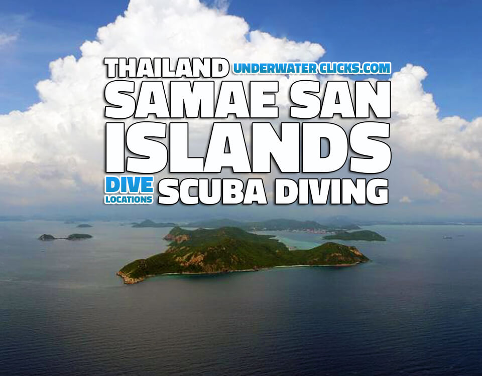 Scuba Diving Locations Samae San Thailand
