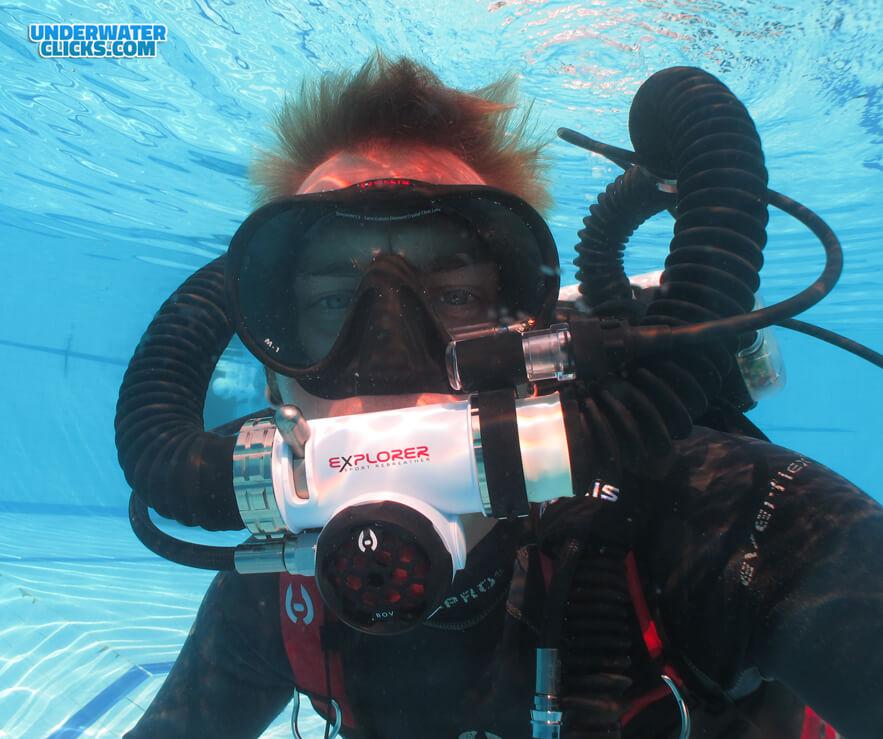 Hollis Explorer Review - Andy Jennings Underwater Clicks