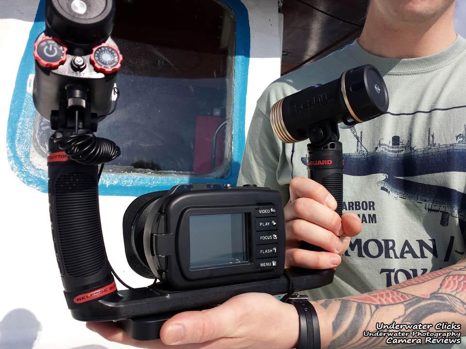 DC1400 Sea Dragon Pro Duo Review Housing