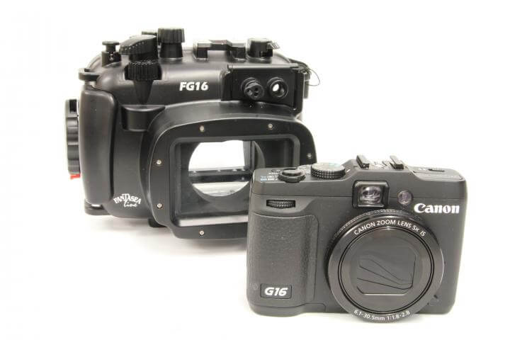 Canon G16 Review Fanasea housing fg16