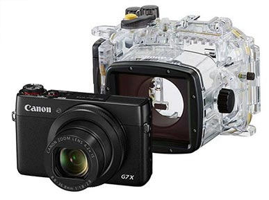 Canon G7x Review For Underwater Photography - Housing