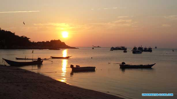 Scuba Diving Locations - Diving Koh Tao Thailand - Stunning Sunsets
