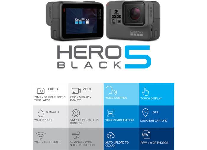 GOPRO HERO5 Underwater Camera